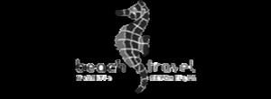 beach travel logo
