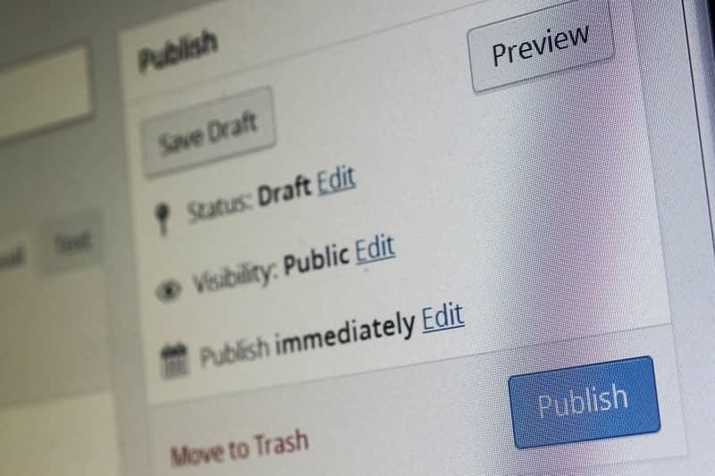 WordPress author user role